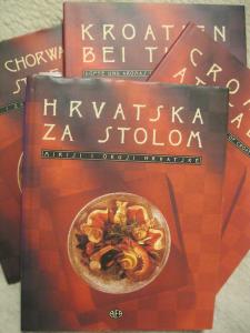 Knjiga Hrvatska za stolom 1