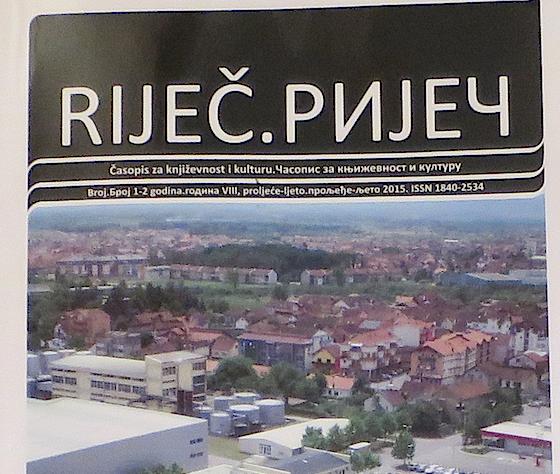 Riječ, naslovnica