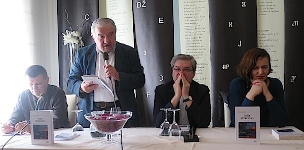 fiser 07m Davor Šalat, pjesnik, Božidar Petrač i Lada Žigo Španić