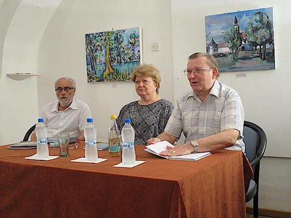 Urednik KNjige Dragutin Pasarić i autori Katarina Brkić i Đuro Vidmarović (Fotografija Miljeko Brezak / Acumen)