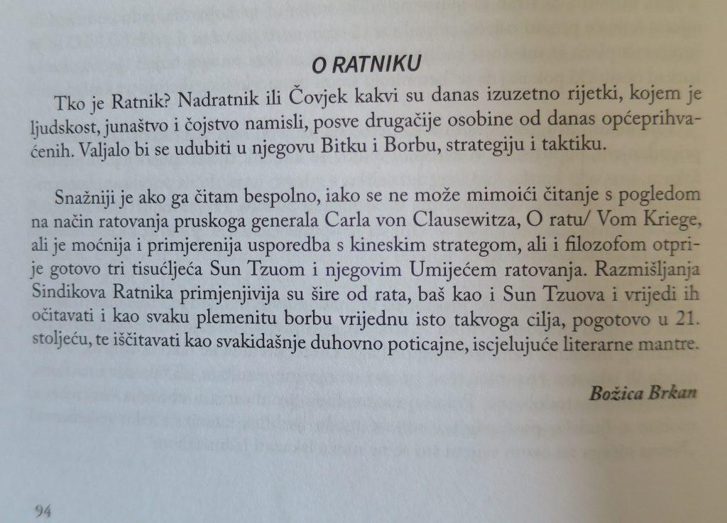 Recenzija objavljena u knjizi