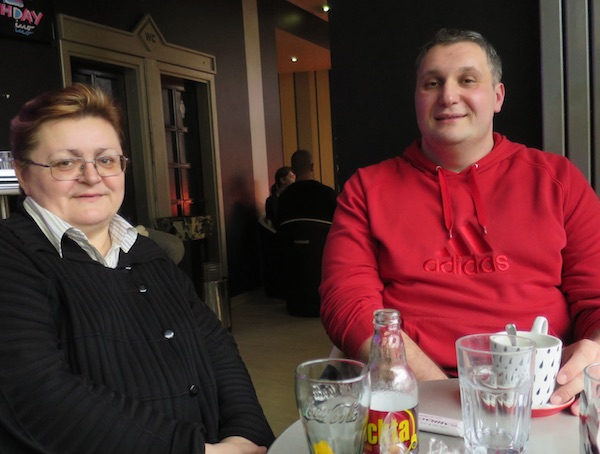 Na fotografiji ovjekovječen dan upoznavanja: Božica Brkan i Igor Martan 16. ožujka 2015. na fotografiji Miljenka Brezaka