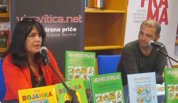Talentiran i svestran vodi predstavljanje knjige / Fotografija Miljenko Brezak