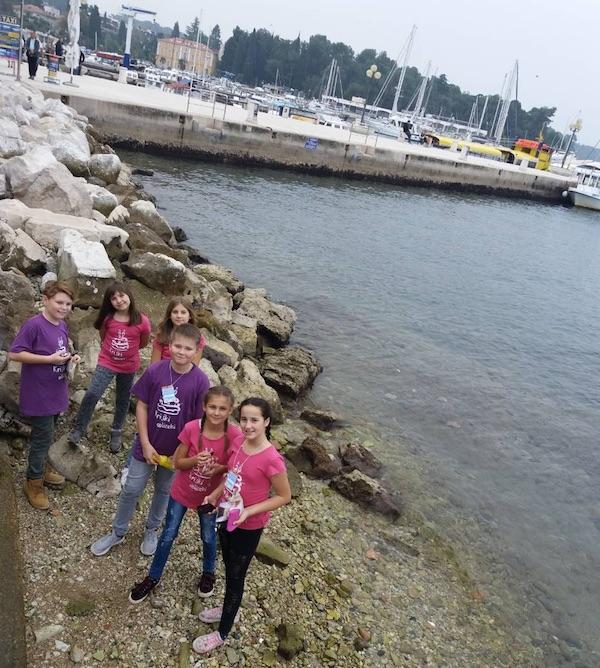 Za uspomenu s Panonskoga na Jadransko more / Fotografija DND Križ