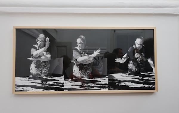 Friz fotografija majstora Ede Murtića sa zida / Fotografija Božica Brkan