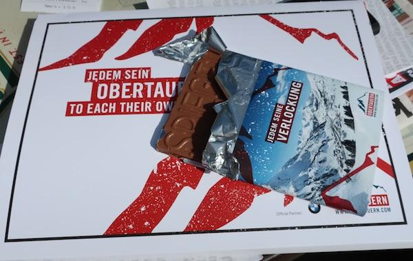 Za promociju snijega i - mliječna čokolada / Fotografija Božica Brkan