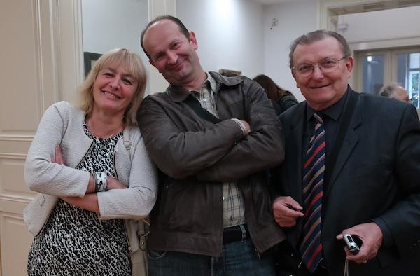 Neformalno: Sanja Pilić, Ivica Matičević i Đuro Vidmarović / Fotografija Božica Brkan