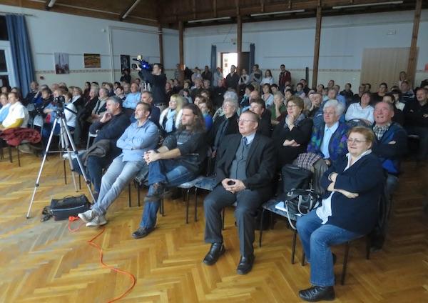 Pun dom publiek za prilika da se vidi i čuje netto na hrvatskom jeziku / Fotografija Miljenko Brezak