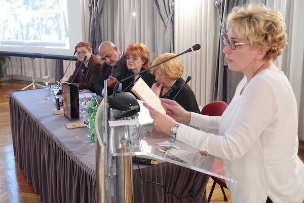 Sanja Prijatelj čita Zagorkino (Fotografija Miljenko Brezak)
