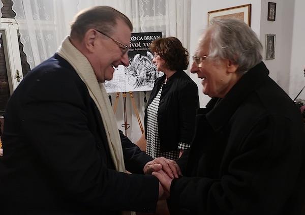 Đuro Vidmarović i Ivan Golub / Fotografija Miljenko Brezak