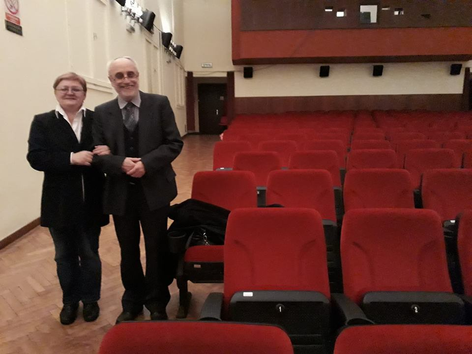 Dragutin Pasarić i Božica Brkan - godine suradnje / Fotografija Miljenko Brezak