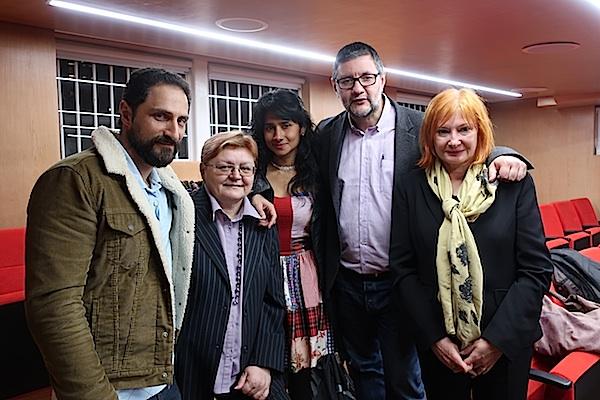 S predstavljanja knjige Encunetros u Bogoti u ožujku 2018. / Dokumentacija Božice Brkan