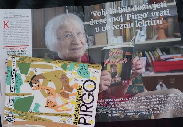 Pirgo, Anđelka Martić i nacional / Božica Brkan