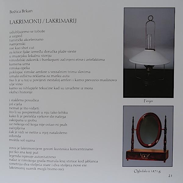 Pjesma u catalogue izložbe