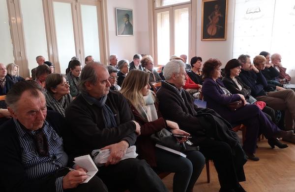 Publika na zagrebačkom predstavljanju / Fotografija Božica Brkan