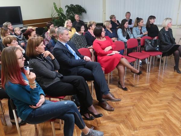 samo dio publike koja je pozorno pratila promociju / Fotografija MIljenko Brezak