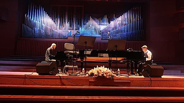 Dvojica i dva klavira / Fotografija Miljenko Brezak