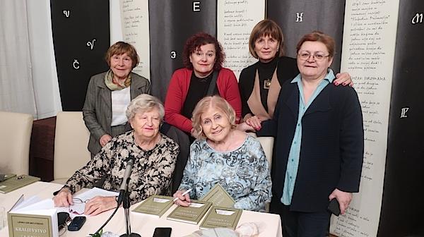 Književnice se druže: Zorka Jekić, Sonja Zubović, Diana Burazer, katice Čorkalo Jemrić, Ljerka Car Matutinović i Božica Brkan / Foografija Miljenko Brezak