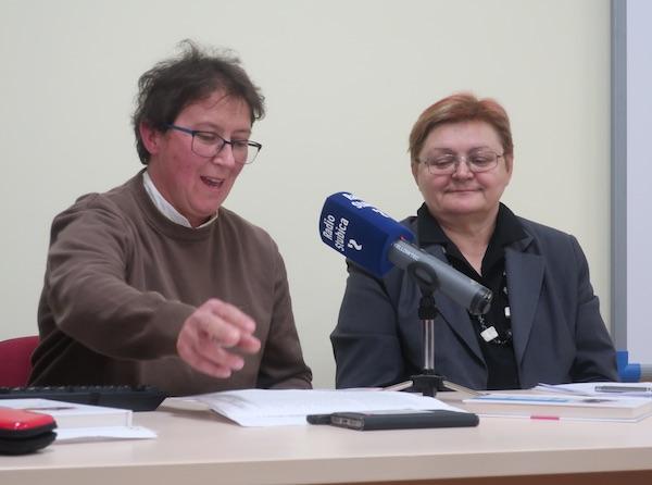 S predstavljanja: Anica Celinić i Božica Brkan / Snimio Miljenko Brezak