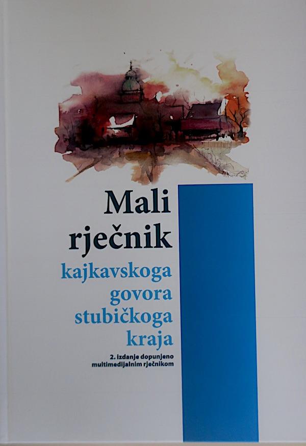 Naslovnica Maloga rječnika kajkavskoga govora stubičkoga kraja