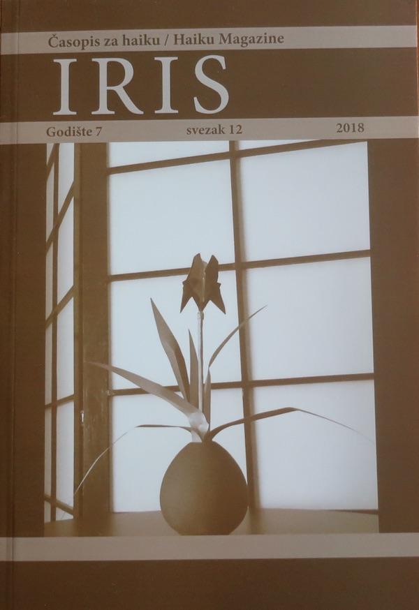 Naslovnica najnovijega broja časopisa Iris