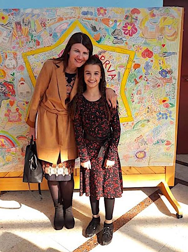 Lana Vujnovac s mentoricom Karmen Soldo / fotografija s Facebooka Karmen Soldo