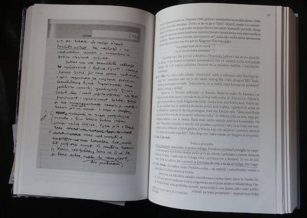 Listajući otisnuti dnevnik