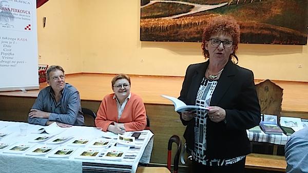 Marica Planner i sama je objavila knjigu na kajkavskoj ikavici, a čitala je Mihalinčeve pjesme / Fotografija Miljenko Brezak