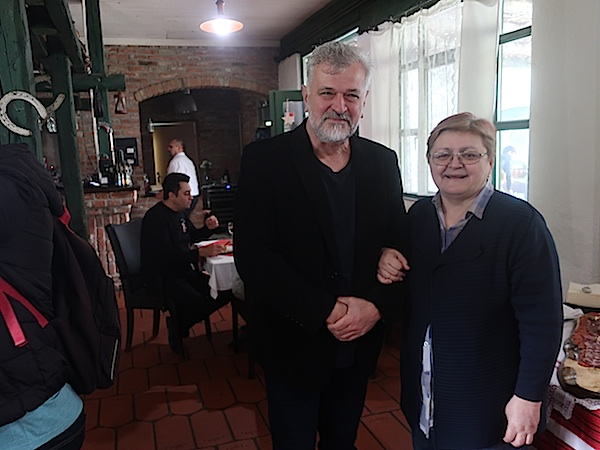 Nakon godina: Stanko Ferić i Božica Brkan (Fotografija Miljenko Brezak)