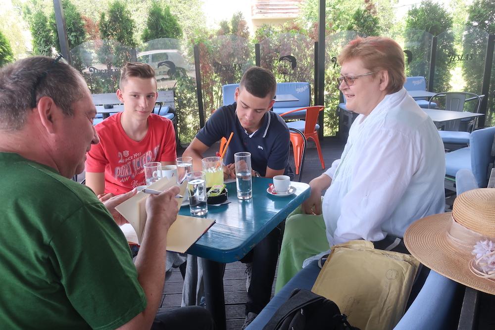 Drugi razgovor za Zlatarske iskrice 20. srpnja 2019. (Fotografija Miljenko Brezak)