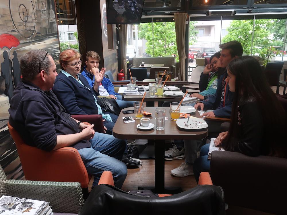 Prvi razgovor za Zlatarske krijesnice (Fotografija Miljenko Brezak)