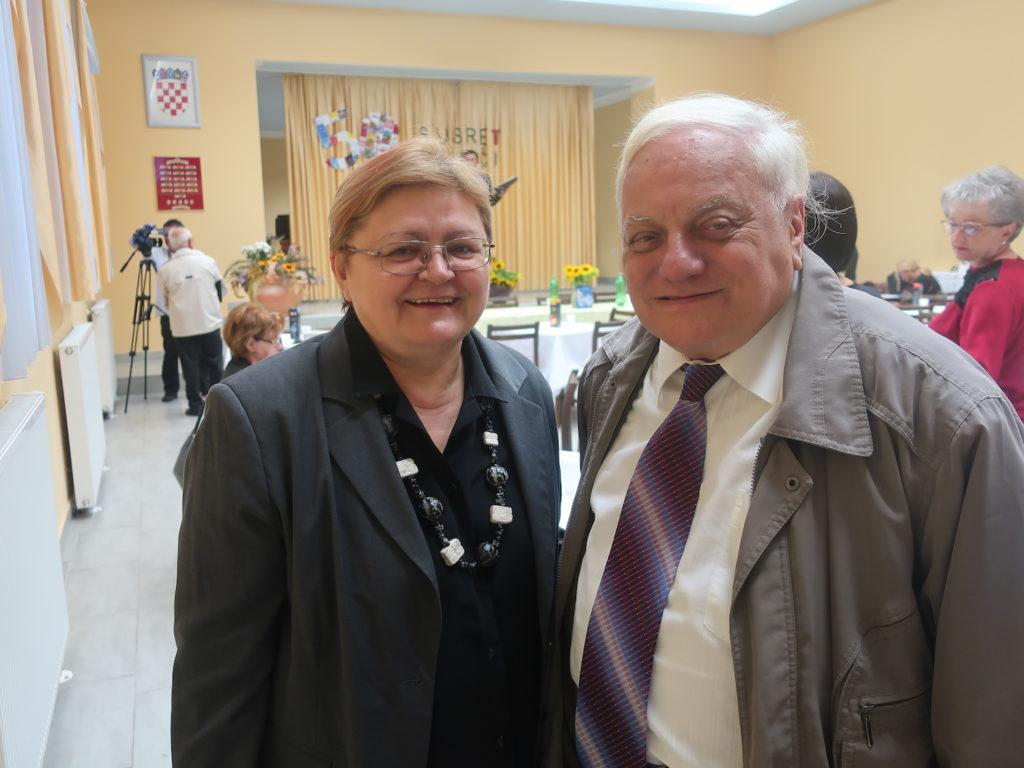45 godine poznanstva: Božica Brkan i Željko Bajza / Fotografija Miljenko Brezak