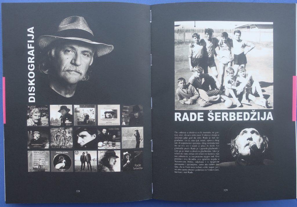 Iz knjige: diskografija slavnoga Vinkovčanina Rade Šerbedžije